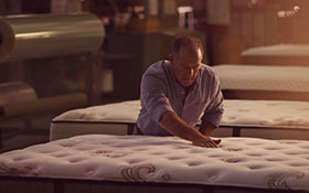 Stearns Foster matelas ressorts fait main